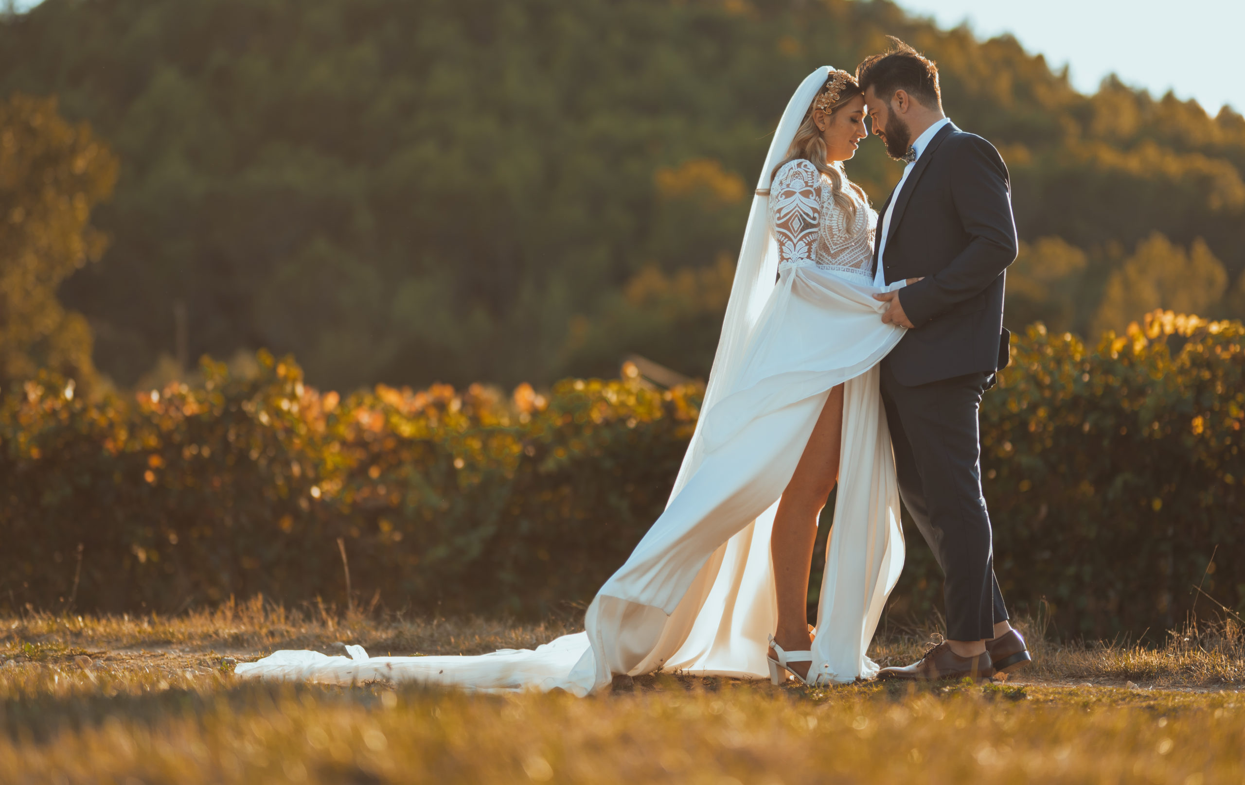 photo couple mariage originale Provence